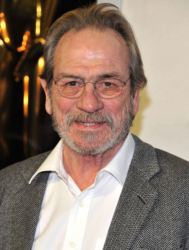 Tommy Lee Jones attends Tom Ford's cocktail event in support of Project Angel Food at TOM FORD on February 21, 2013 in Beverly Hills, California.