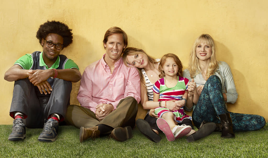 """Odd couple siblings Kate (Dakota Johnson) and Ben (Nat Faxon) – one, an overly responsible single mom; the other, an exuberant dreamer – push each other out of their comfort zones and into real life in """"Ben and Kate"""" on Fox."""