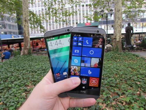 HTC One M8 and HTC One M8 for Windows