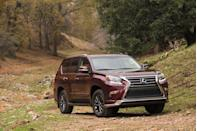 "<p>Over the past few years, the <a href=""https://www.caranddriver.com/lexus/gx"" rel=""nofollow noopener"" target=""_blank"" data-ylk=""slk:Lexus GX"" class=""link rapid-noclick-resp"">Lexus GX</a> has earned cachet as a luxury SUV that has real ability. Built like a real truck, with body-on-frame construction, the GX uses a self-leveling suspension with optional adaptive dampers. The full-time four-wheel drive and two-speed transfer case combine for goatlike off-road abilities. And don't you crave an SUV that's comparable with a goat? Power comes from a 4.6-liter V-8 rated at 301 horsepower. Those features are joined by low-range gearing, a limited-slip center differential, hill-descent control, active traction control, and available crawl control. That last one helps the GX maintain low speeds in forward or reverse while traversing uneven surfaces and challenging obstacles.</p>"