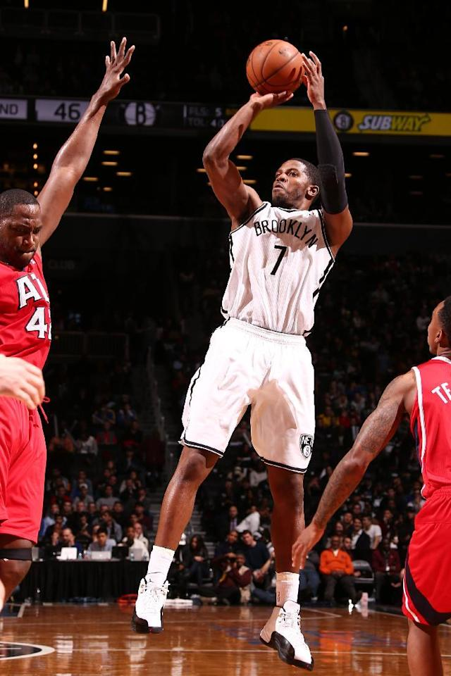 Johnson, Nets match season high with 3rd straight