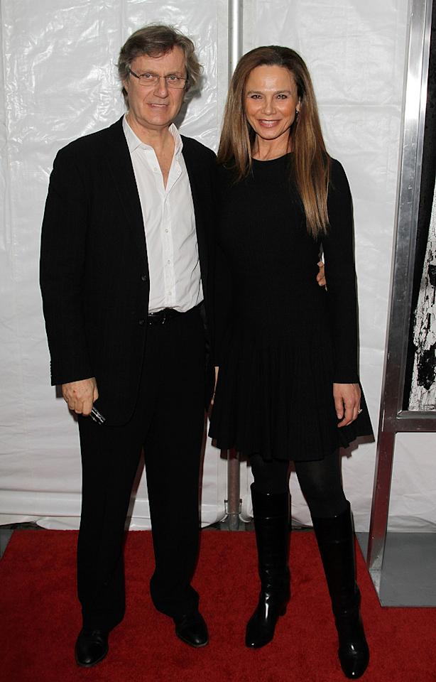 "Lasse Hallstrom and <a href=""http://movies.yahoo.com/movie/contributor/1800014009"">Lena Olin</a> at the New York City premiere of <a href=""http://movies.yahoo.com/movie/1810076910/info"">Remember Me</a> - 03/01/2010"