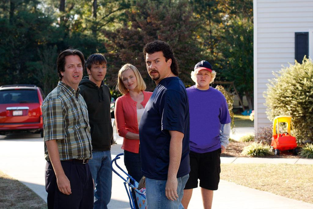 """Just because washed-up former pitcher Kenny Powers (<a href=""""/danny-mcbride/contributor/66833"""">Danny McBride</a>) had to return to his hometown and teach P.E. doesn't mean he's humbled. Instead, Powers' big-league ego gets him into so many sticky situations, it's easy to forget Season 1 of <a href=""""/eastbound-and-down/show/40486"""">""""Eastbound & Down""""</a> lasted just six episodes. When we last saw Powers, it looked like he had a shot at getting back to major-league ball and winning back his woman ... but sometimes life throws you a curve. <a href=""""/eastbound-and-down/show/40486"""">Returns in 2010 on HBO</a>"""