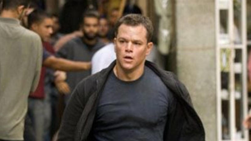 Matt Damon as Jason Bourne in 'The Bourne Supremacy'. (Credit: Universal)