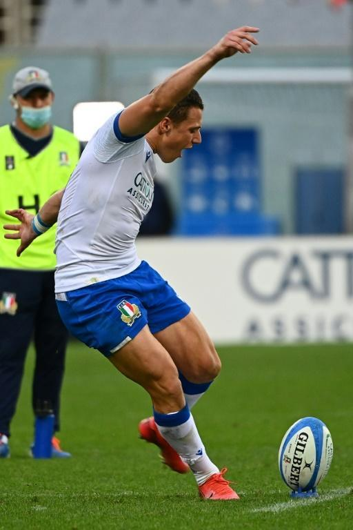 Rising star - Italy fly-half Paolo Garbisi