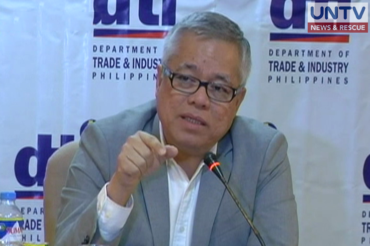 Department of Trade and Industry Secretary Ramon Lopez