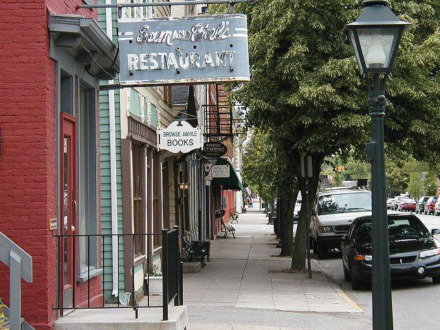 """<p>Ohio weekend travelers flock to <a href=""""http://downtowntippcity.org/placestogo/shopping.html"""" rel=""""nofollow noopener"""" target=""""_blank"""" data-ylk=""""slk:this picture-perfect town"""" class=""""link rapid-noclick-resp"""">this picture-perfect town</a>, where small businesses are the main attraction. Not limited to strictly antiques, shops like <a href=""""http://www.midwestmemoriesantiques.com/"""" rel=""""nofollow noopener"""" target=""""_blank"""" data-ylk=""""slk:Midwest Memories Antiques"""" class=""""link rapid-noclick-resp"""">Midwest Memories Antiques</a> and <a href=""""http://www.irondogsalvage.com/"""" rel=""""nofollow noopener"""" target=""""_blank"""" data-ylk=""""slk:Iron Dog Salvage"""" class=""""link rapid-noclick-resp"""">Iron Dog Salvage</a> also offer refashioned takes on vintage items. </p><p><a href=""""https://flic.kr/p/52GMAH"""" rel=""""nofollow noopener"""" target=""""_blank"""" data-ylk=""""slk:Photo via Flickr"""" class=""""link rapid-noclick-resp""""><em>Photo via Flickr</em></a></p>"""