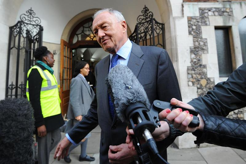 Ken Livingstone arrives for a hearing (Lauren Hurley/PA )