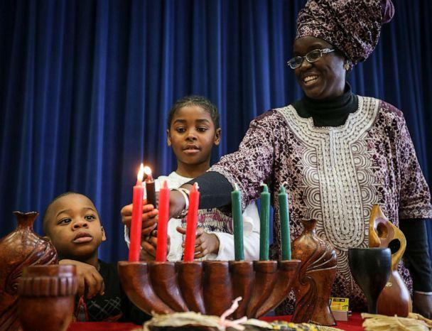 PHOTO: The Markham African Caribbean Canadian Association's Kwanzaa celebration took place Saturday afternoon at the Milliken Mills High School, Dec. 14, 2013. (David Cooper/Toronto Star via Getty Images, FILE)