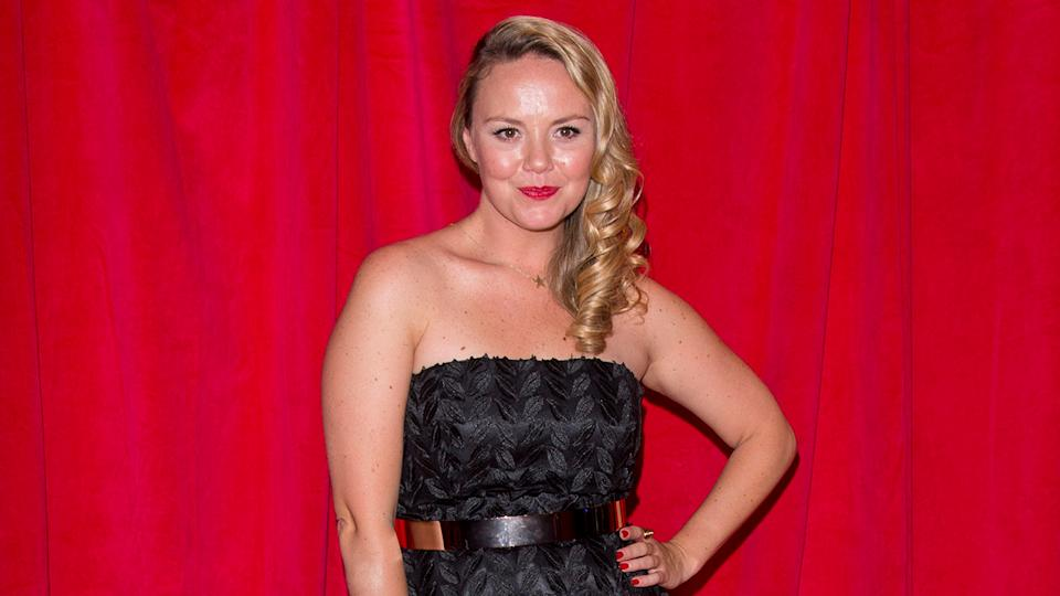 Charlie Brooks admits that she often feels insecure because she never went to drama school (Image: Getty Images)