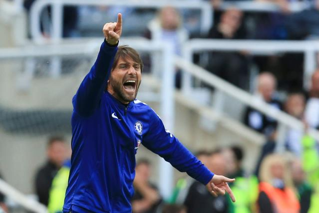 Antonio Conte might have managed his last Premier League game at Chelsea on Sunday. (Getty)