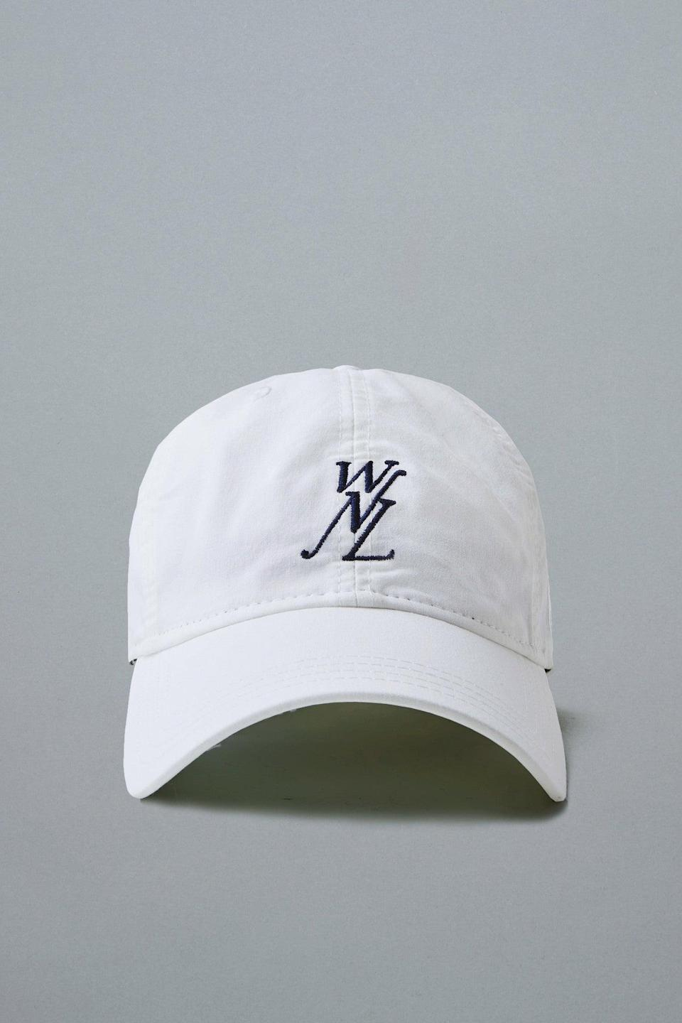 """Give your dad's go-to baseball cap an upgrade with this iconic WNL (which stands for """"We Need Leaders"""") alternative by Public School NY, the CFDA-winning streetwear brand co-founded by Maxwell Osborne, a Black designer from Brooklyn, (alongside Dao-Yi Chow, a Chinese designer from Queens) in 2008. <br> <br> <strong>Public School</strong> WNL Pastel Dad Hat, $, available at <a href=""""https://go.skimresources.com/?id=30283X879131&url=https%3A%2F%2Fwww.publicschoolnyc.com%2Fwnl-pastel-dad-hat.html%3F___store%3Ddefault"""" rel=""""nofollow noopener"""" target=""""_blank"""" data-ylk=""""slk:Public School"""" class=""""link rapid-noclick-resp"""">Public School</a>"""