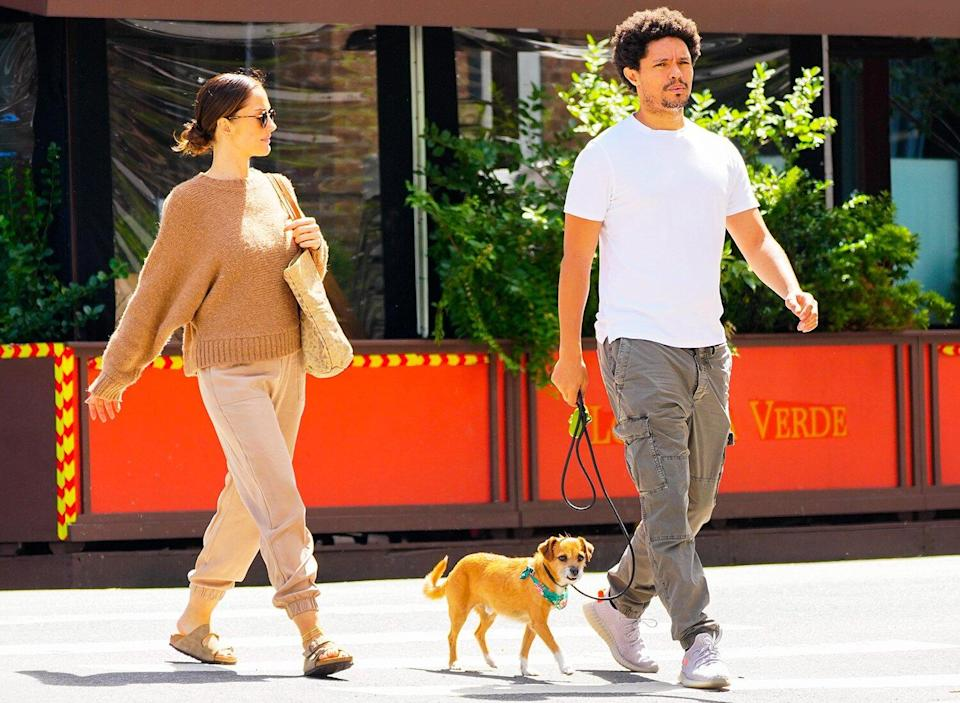 Trevor Noah and Minka Kelly Step Out Together in NYC Months After Breakup