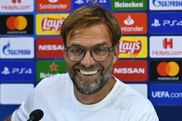 """""""It's so easy to carry on normal:"""" said Liverpool coach Jurgen Klopp of winning the Champions League. (AFP Photo/Andreas SOLARO)"""