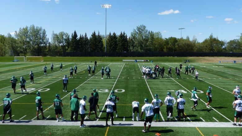 Riders take practice on the road, and hope to shake off bye-week quickly
