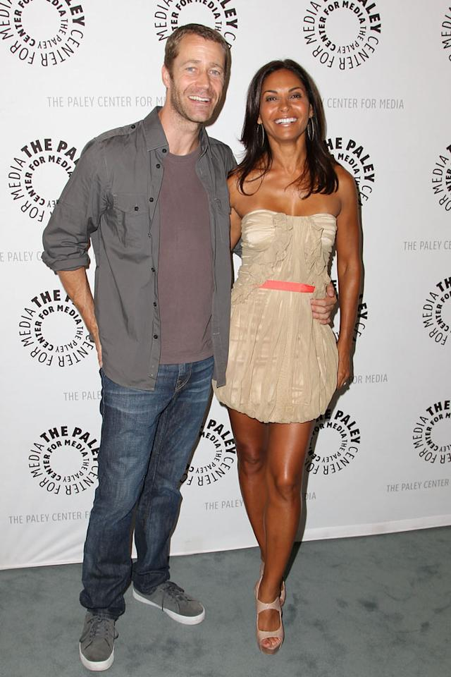 "Colin Ferguson and Salli Richardson-Whitfield attend the The Paley Center For Media Presents An Evening With Syfy's ""Eureka"" at The Paley Center for Media on July 9, 2012 in Beverly Hills, California."