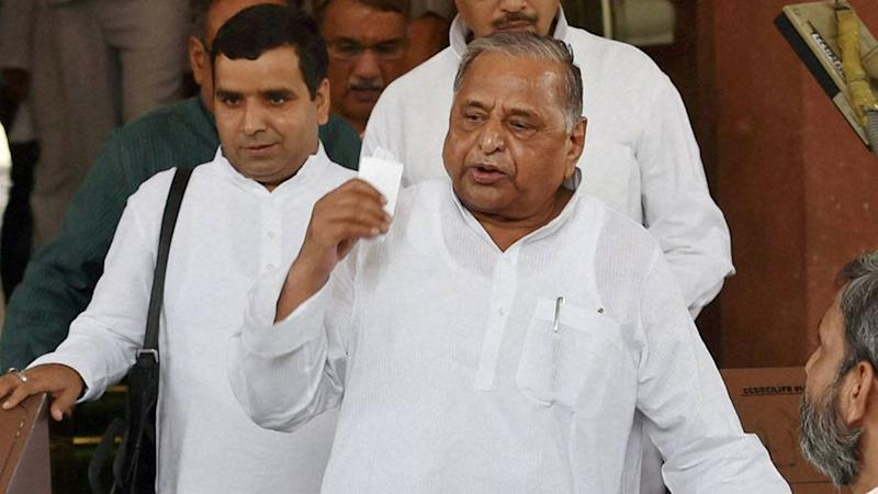 Mulayam Yadav Blames Media, Voters for SP's Poll Debacle in UP