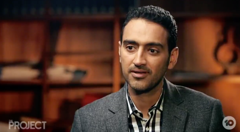 Waleed Aly interviewed County Court Chief Judge Peter Kidd has on The Project on Tuesday night. Source: The Project/ 10 Network