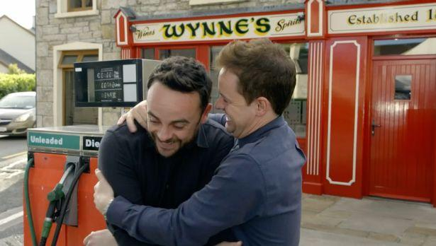 Dec feared he'd lost his best pal Ant forever (ITV)
