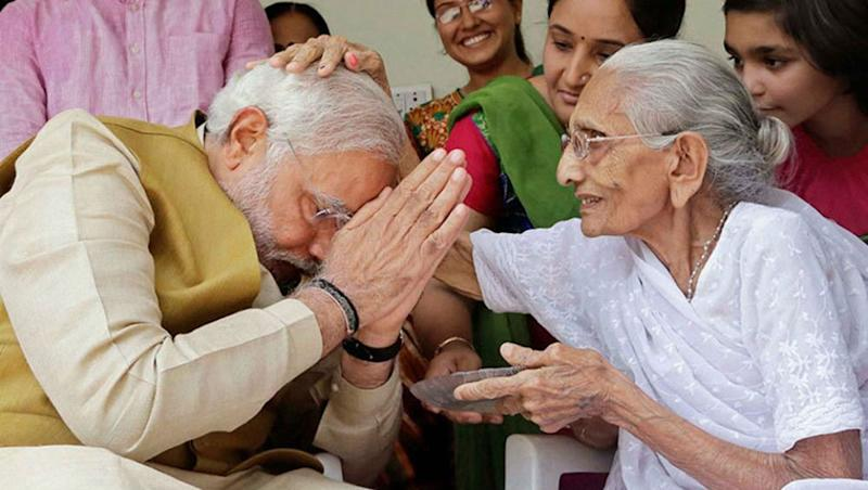 Narendra Modi to Visit Mother in Gujarat Before Taking 2nd Oath as Prime Minister