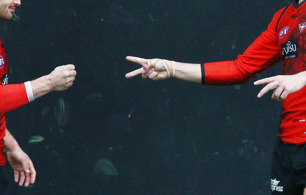 An English soccer referee improvised when he forgot his coin for the coin toss — and paid the price. (Getty)