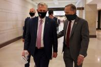 U.S. House Minority Leader Kevin McCarthy arrives on Capitol Hill in Washington