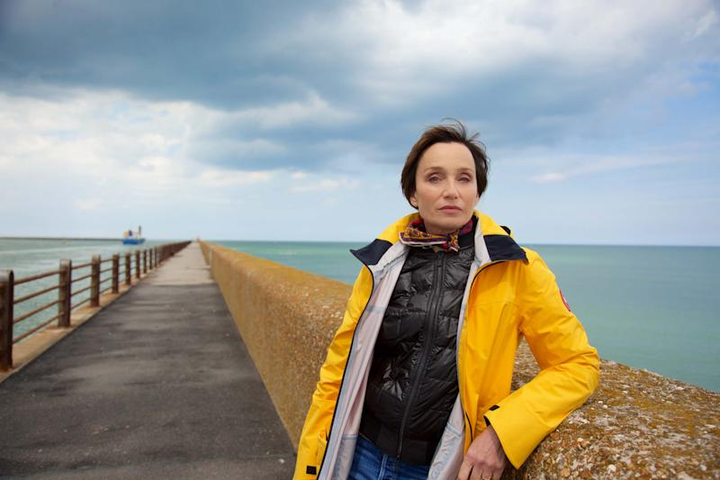 Kristin Scott Thomas was moved by what she learned making My Grandparents' War (Credit: Channel 4/Wild Pictures)