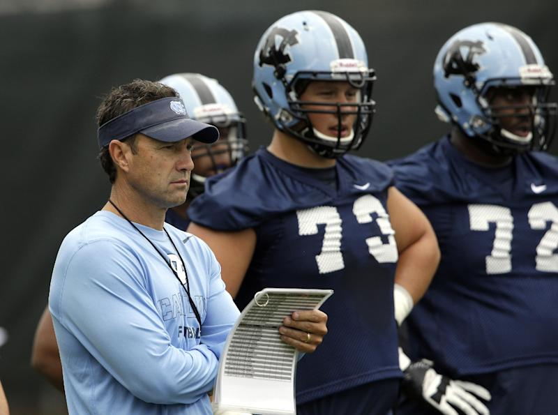 Tar Heels aim to win wide-open ACC division race