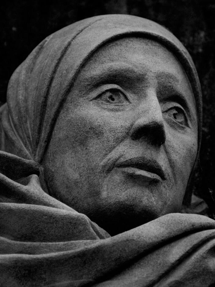 """Little is known about <a href=""""http://w2.vatican.va/content/benedict-xvi/en/audiences/2010/documents/hf_ben-xvi_aud_20101201.html"""">Julian of Norwich</a>, an English mystic who lived from 1342 until roughly 1430. Information about her comes primarily from her <i>Revelations of Divine Love in Sixteen Showings</i>, the book in which Julian recorded her divine visions. In 1373, she became ill and nearly died within a matter of days. A priest came to her bedside and show her an image of Christ, after which Julian recovered and received the 16 revelations that she recorded in her book. God later revealed to her the meaning of these visions, which she recorded as: """"'Would you learn to see clearly your Lord's meaning in this thing? Learn it well: Love was his meaning. Who showed it to you? Love.... Why did he show it to you? For Love'.... Thus I was taught that Love was our Lord's meaning."""" She chose to live a contemplative and reclusive life until her death."""