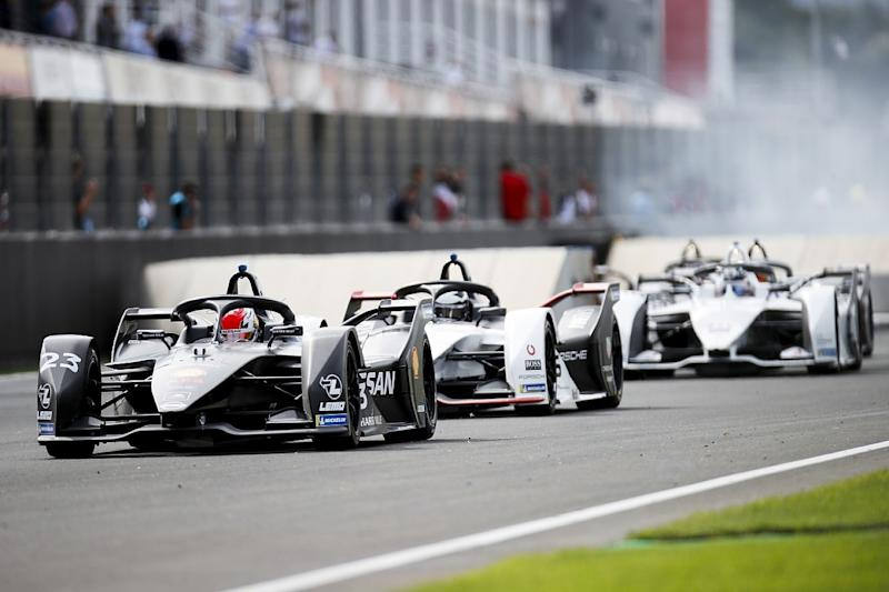Guenther fastest then stops as Buemi wins 'race'