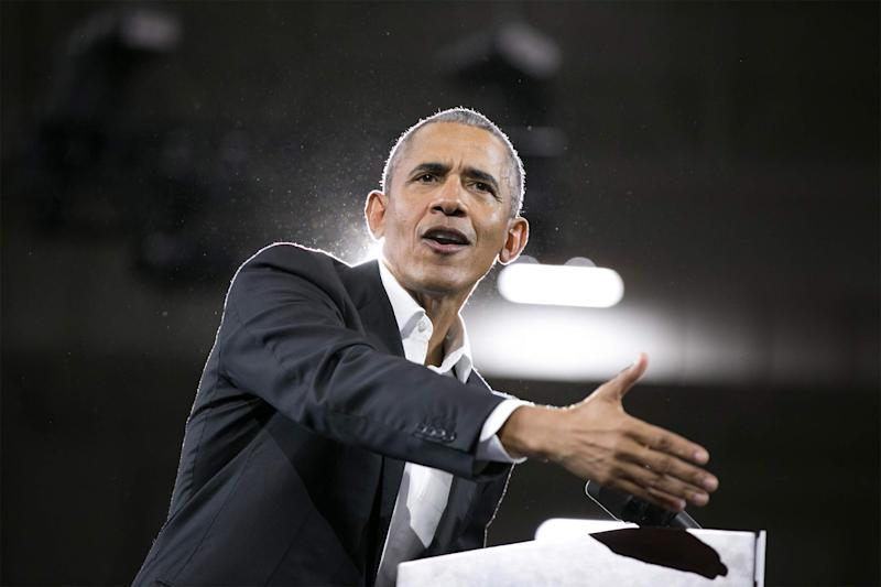 Obama Spoke at Boeing Retreat After Firm Gave Millions to Library Fund