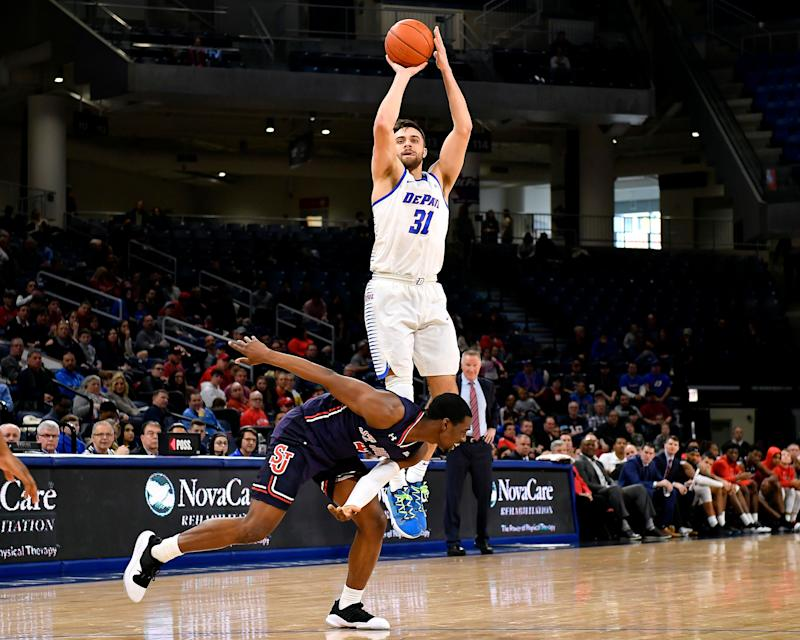 Exterior: Max Strus' 43-point Outburst For DePaul Just Put A Huge