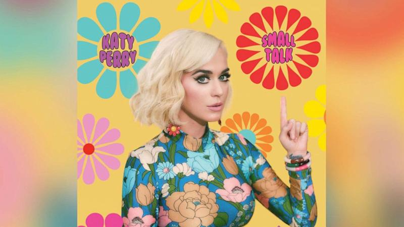 Listen now: Katy Perry makes 'Small Talk' with new single