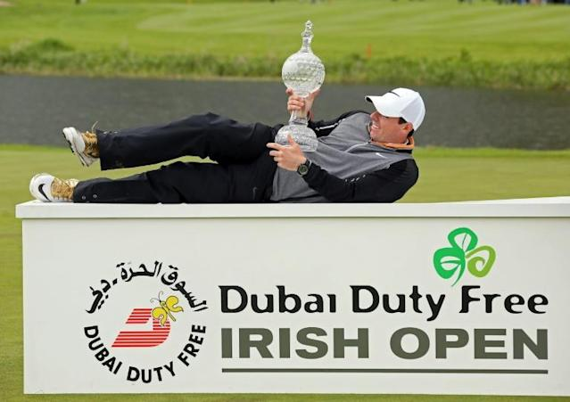 The Irish Open became the latest golf tournament postponed due to the coronavirus on Monday (AFP Photo/PAUL FAITH)