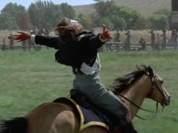 Dances with Wolves 1990 Kevin Costner movie