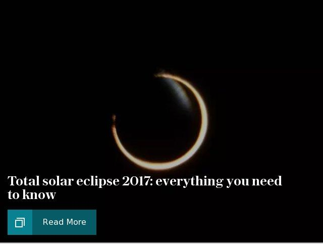 Total solar eclipse 2017: explainer