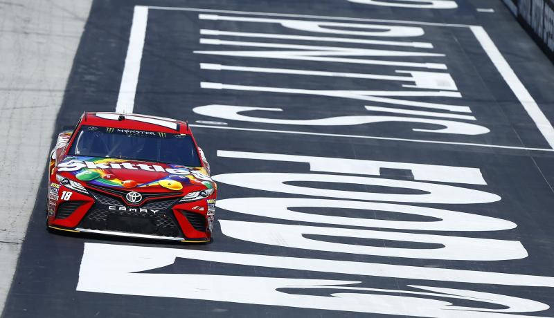 Kyle Busch has won six times in 25 Cup Series starts at Bristol. More