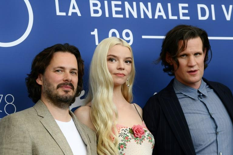 Taylor-Joy stars alongside Matt Smith in 'Last Night in Soho', which premiered out of competition in Venice. (AFP/Filippo MONTEFORTE)