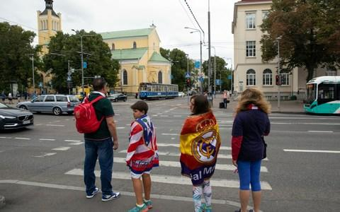 Madrid folk in Estonia - Credit: AP