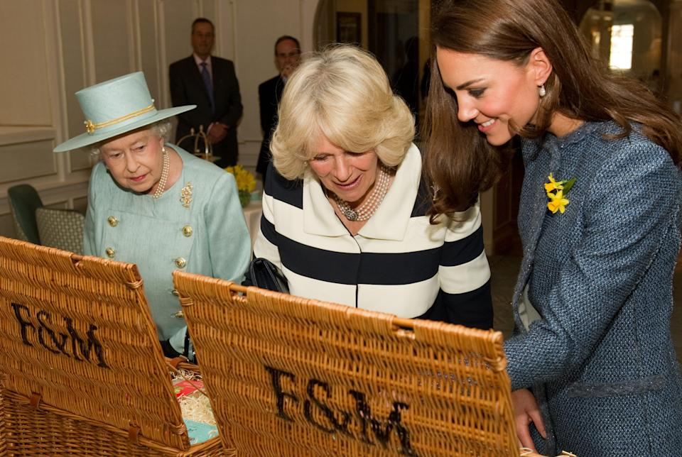 The Queen usually favours a little something from royal grocer Fortnum & Mason [Photo: Getty]