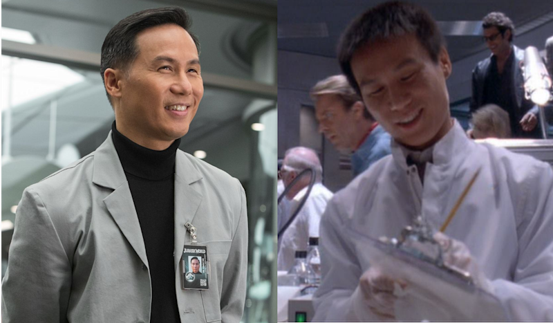 B.D. Wong as Dr Henry Wu in 'Jurassic World' and 'Jurassic Park'.