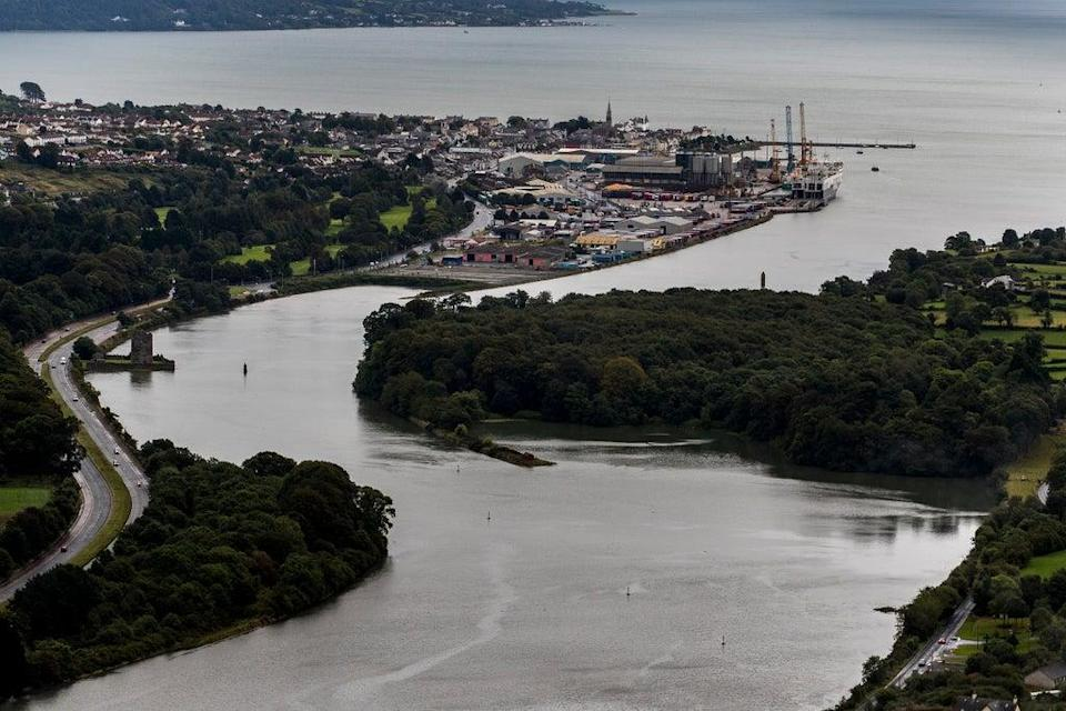 Narrow Water Point and Warrenpoint Port (Liam McBurney/PA) (PA Archive)