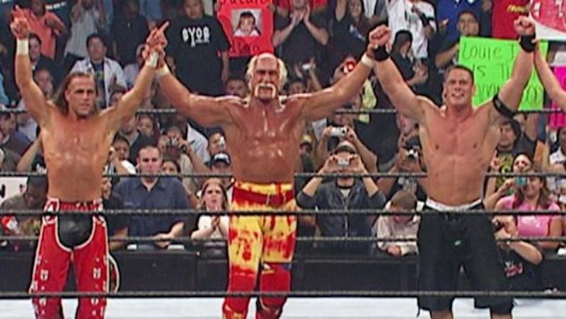 5 times the biggest WWE stars wrestled as tag-team partners