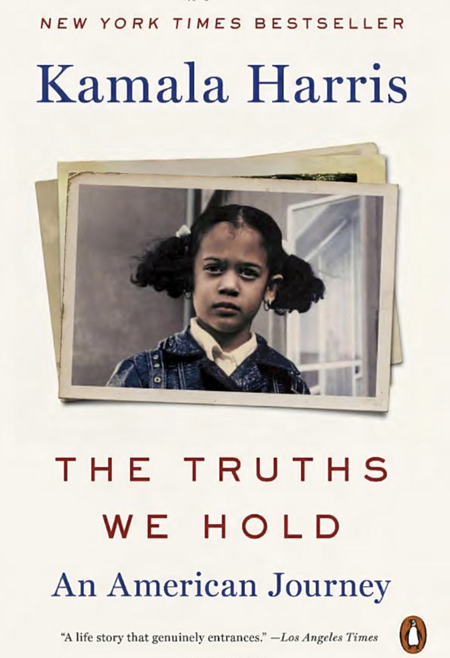 The Truths We Hold: An American Journey- Amazon, $21