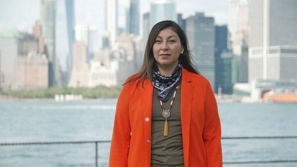 PHOTO: Melissa Oakes is a member of the Mohawk Nation and executive director of the American Indian Community House in New York City. (ABC News)