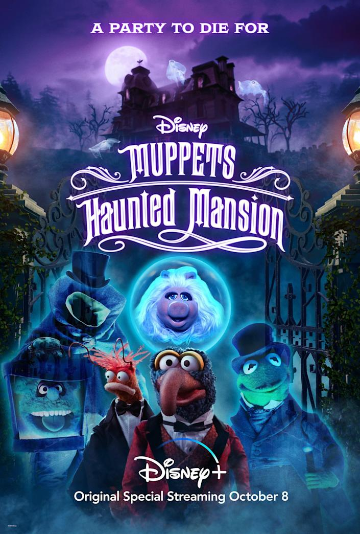Poster For Muppets Haunted Mansion