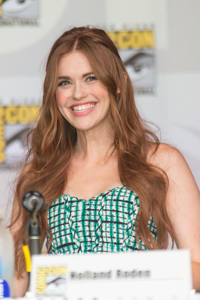 SAN DIEGO, CA - JULY 18: Actress Holland Roden attends the Teen Wolf panel during Comic-Con International 2013 on July 18, 2013 in San Diego, California. (Photo by Paul A. Hebert/WireImage)