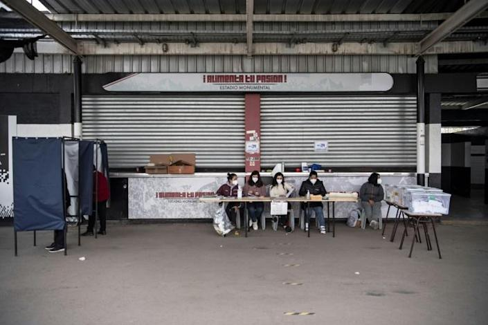 Fewer than half of the 14.9 million eligible voters turned out on Saturday and Sunday to elect a 'constitutional convention' that will now be tasked with drawing up a new founding law for a new Chile