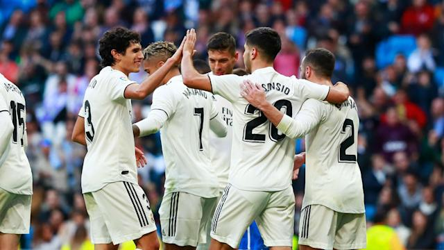 Marco Asensio and Isco both hit braces as Real Madrid cruised to a resounding Copa del Rey win over third-tier Melilla.
