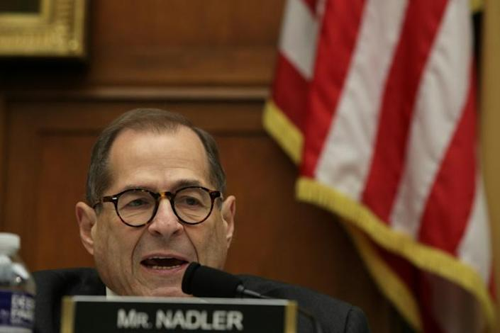 House Judiciary Committee Chairman Jerry Nadler has invited Trump to attend the latest impeachment hearing (AFP Photo/ALEX WONG)
